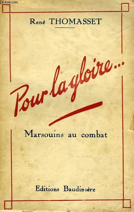 POUR LA GLOIRE..., NOTES DE GUERRE, 1939-1940
