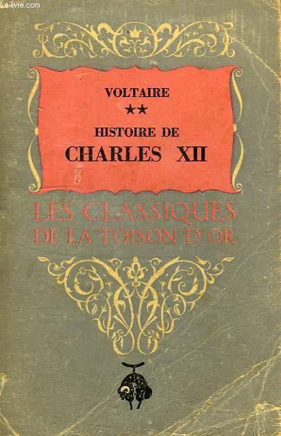 HISTOIRE DE CHARLES XII, ROI DE SUEDE, TOME II