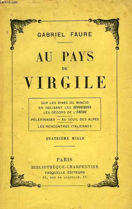 AU PAYS DE VIRGILE