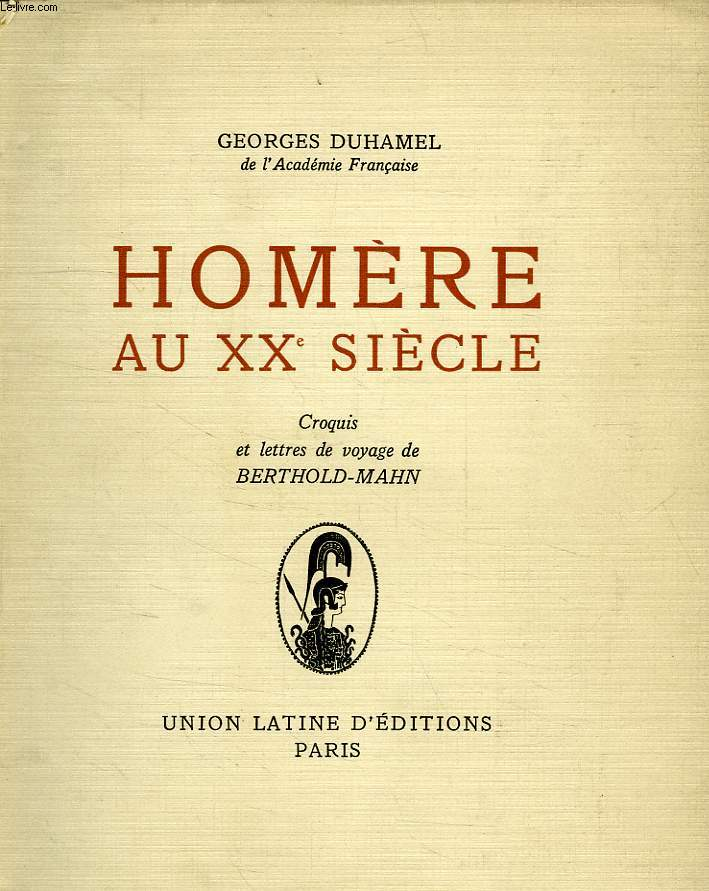 HOMERE AU XXe SIECLE