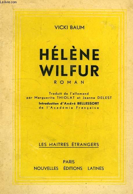 HELENE WILFUR, ETUDIANTE EN CHIMIE