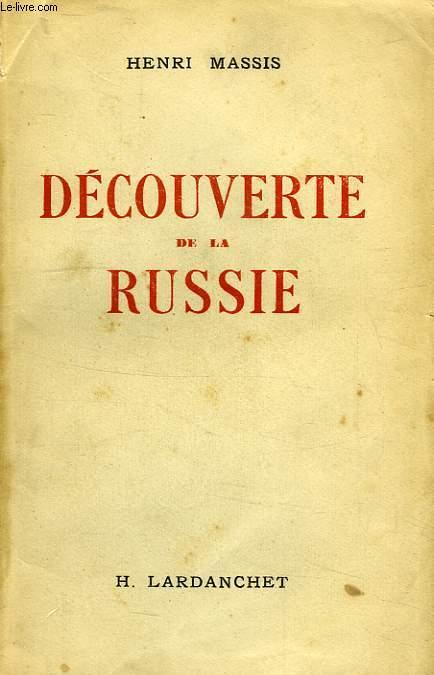 DECOUVERTE DE LA RUSSIE