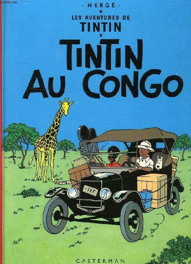 LES AVENTURES DE TINTIN, TINTIN AU CONGO