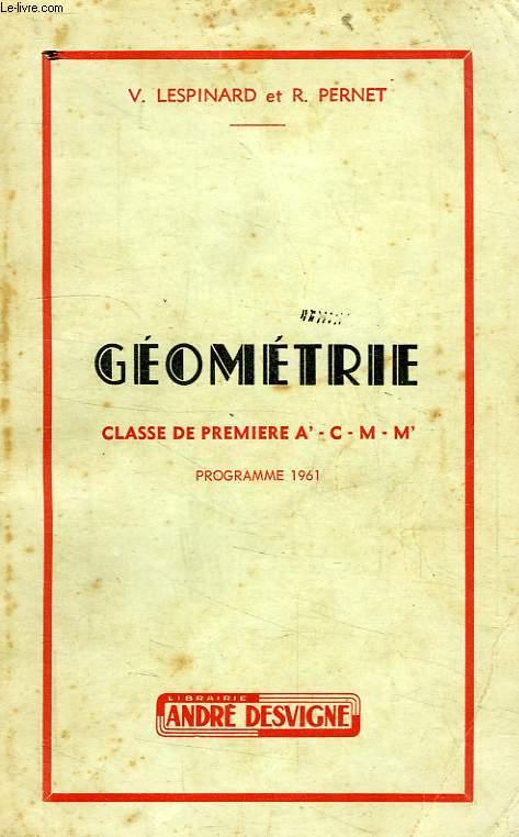 GEOMETRIE, CLASSE DE 1re A', C, M, M'