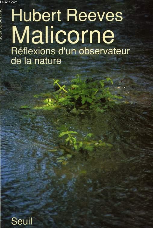 MALICORNE, REFLEXIONS D'UN OBSERVATEUR DE LA NATURE