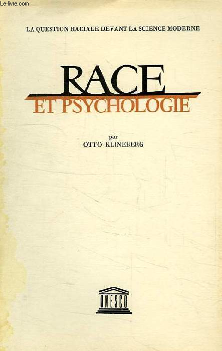 RACE ET PSYCHOLOGIE