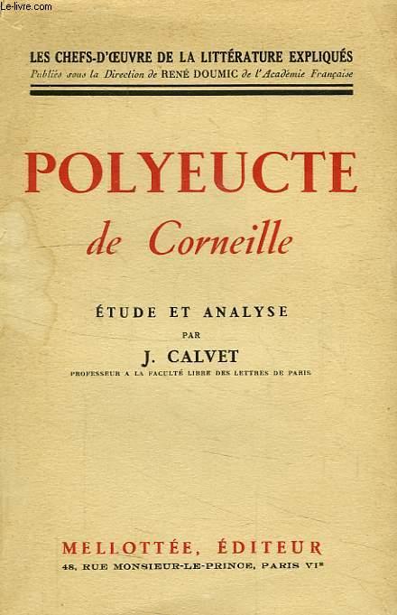 POLYEUCTE DE CORNEILLE