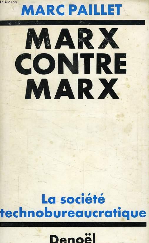 MARX CONTRE MARX
