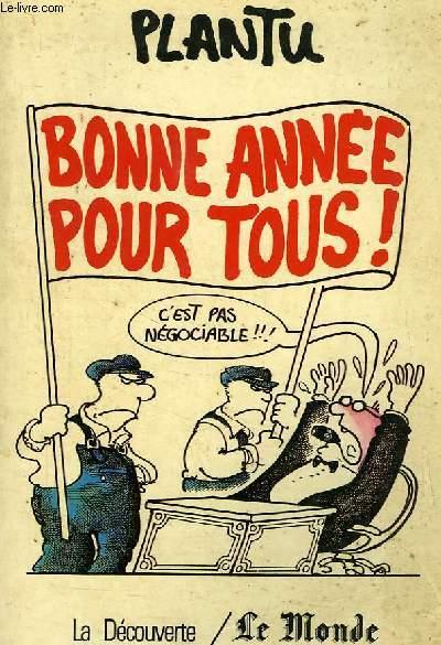 BONNE ANNEE POUR TOUS !