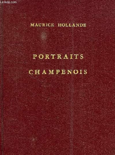 PORTRAITS CHAMPENOIS
