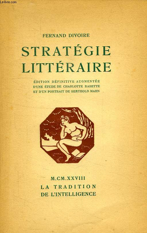 STRATEGIE LITTERAIRE