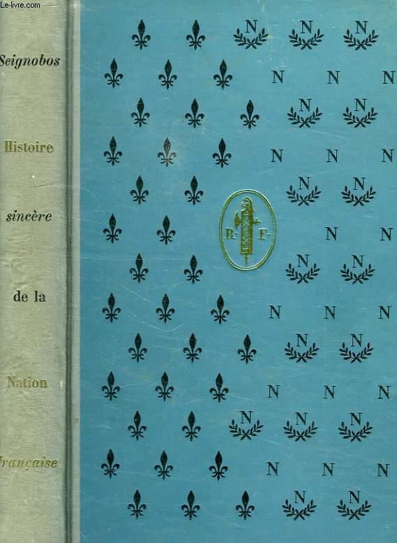 HISTOIRE SINCERE DE LA NATION FRANCAISE