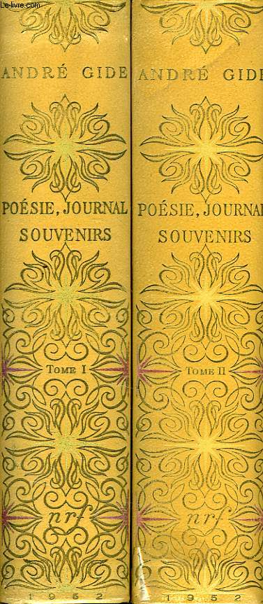 POESIE, JOURNAL, SOUVENIRS, 2 TOMES