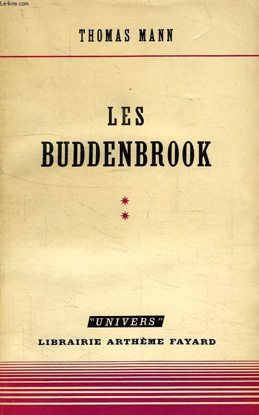 LES BUDDENBROOK, TOME II