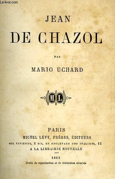 JEAN DE CHAZOL