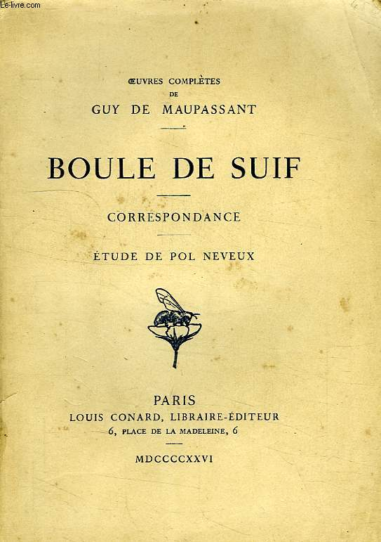maupassants boule de suif Boule de suif apr 25, 2009 04/09 by guy de maupassant audio eye 17,727 favorite 3 comment 0 source: librivox recording of a public-domain text.