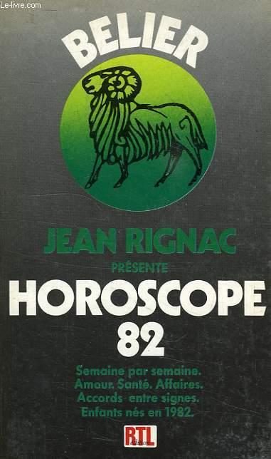 HOROSCOPE 82, BELIER