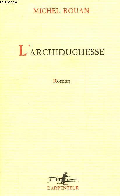 L'ARCHIDUCHESSE
