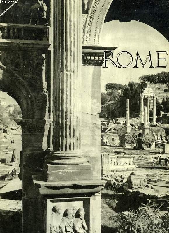 ROME, LA CAMPAGNE ROMAINE ET L'OMBRIE