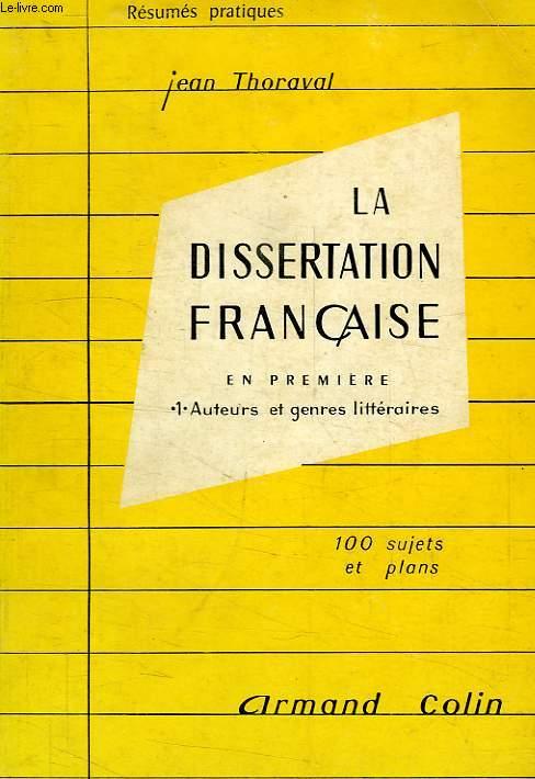 La dissertation littéraire – critique ou explicative