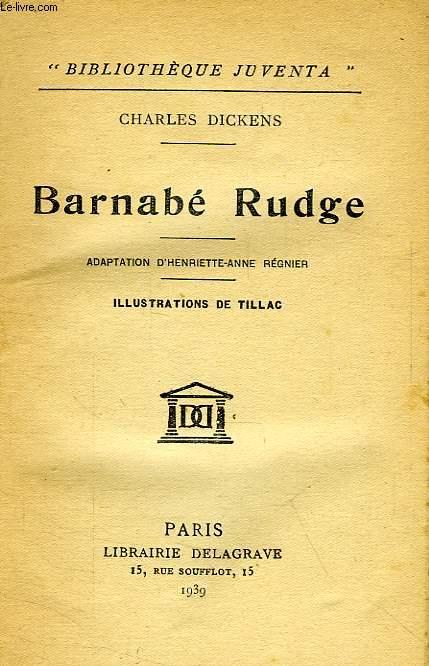BARNABE RUDGE