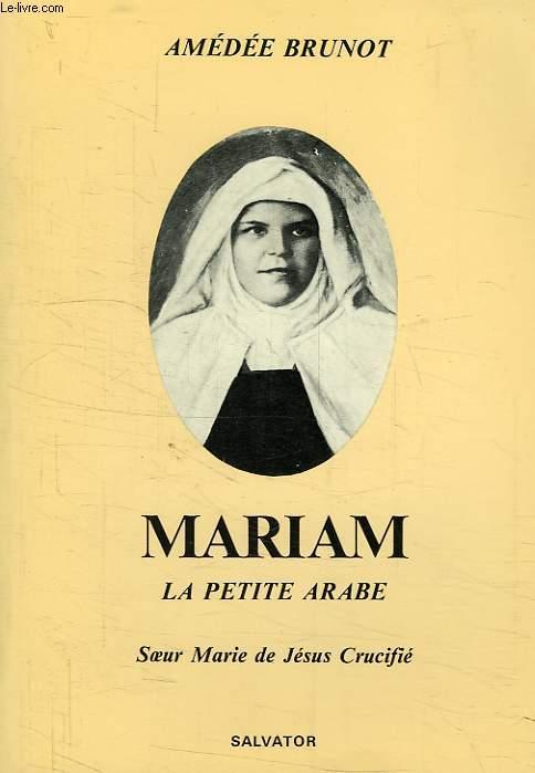 MARIAM, LA PETITE ARABE