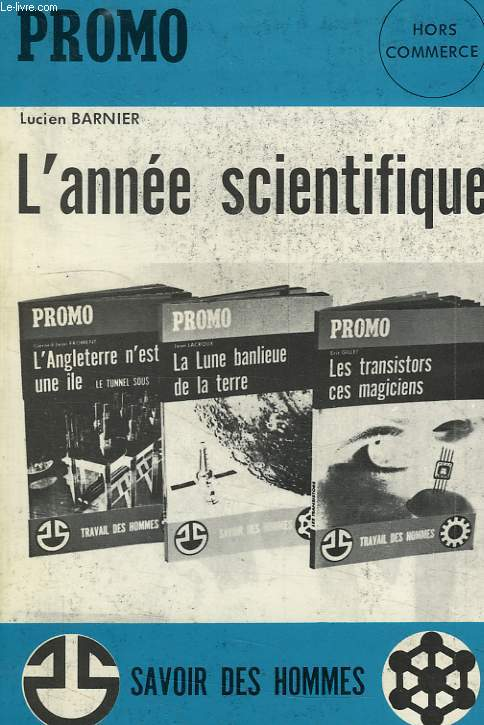 PROMO, H.C., L'ANNEE SCIENTIFIQUE