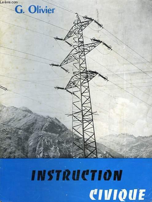 INSTRUCTION CIVIQUE, CLASSE DE 4e