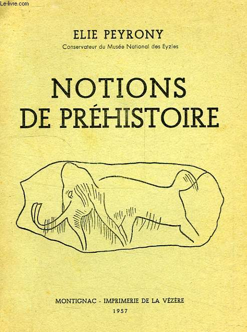 NOTIONS DE PREHISTOIRE