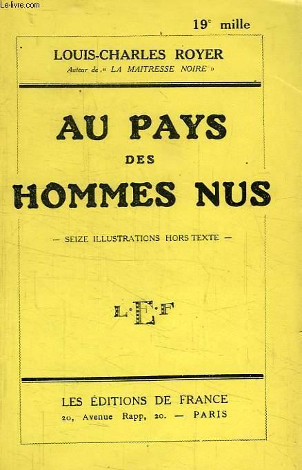 AU PAYS DES HOMMES NUS