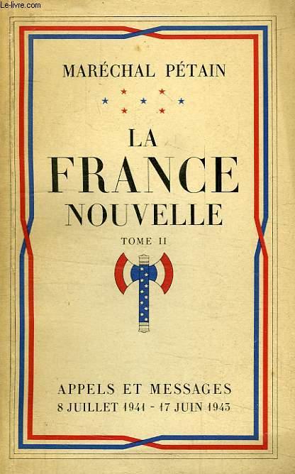 LA FRANCE NOUVELLE, TOME II