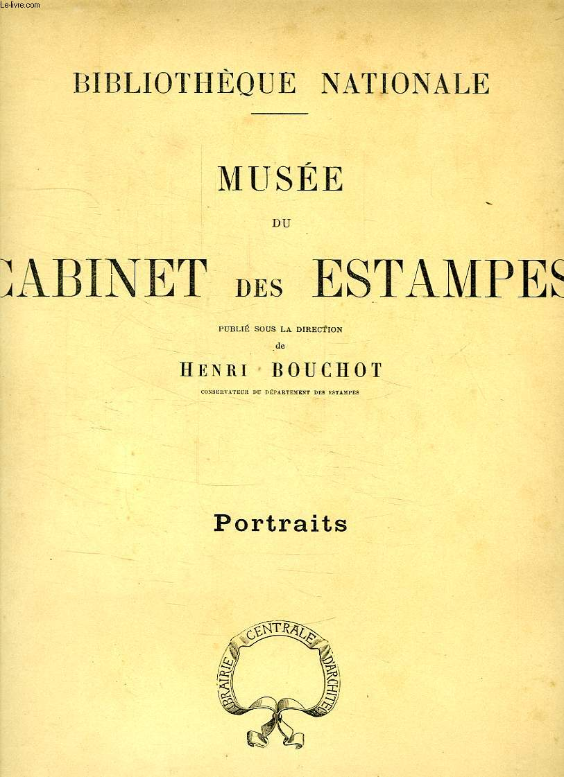 MUSEE DU CABINET DES ESTAMPES, PORTRAITS