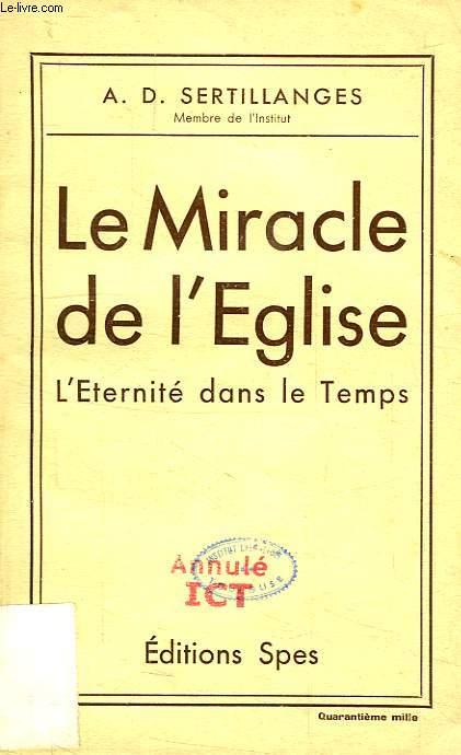 LE MIRACLE DE L'EGLISE