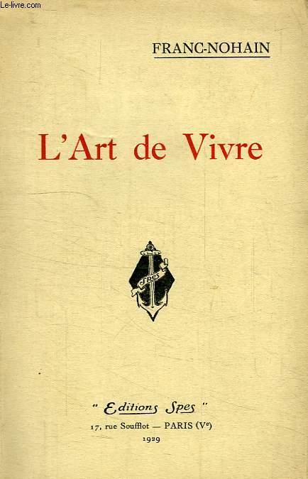 L'ART DE VIVRE