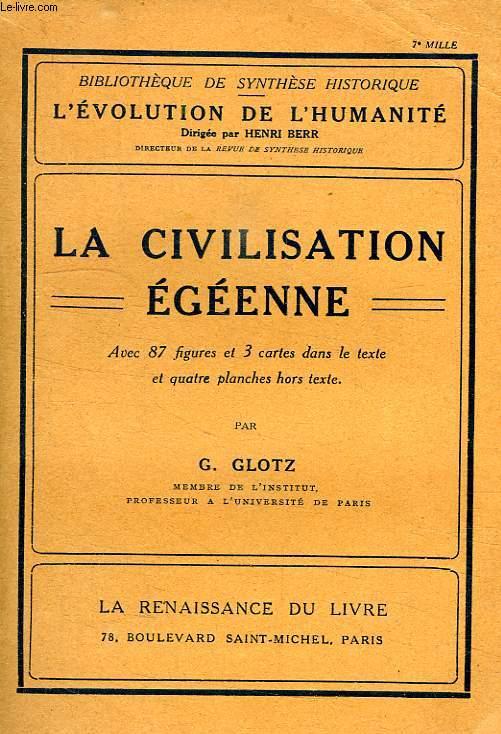 LA CIVILISATION EGEENNE