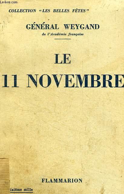 LE 11 NOVEMBRE