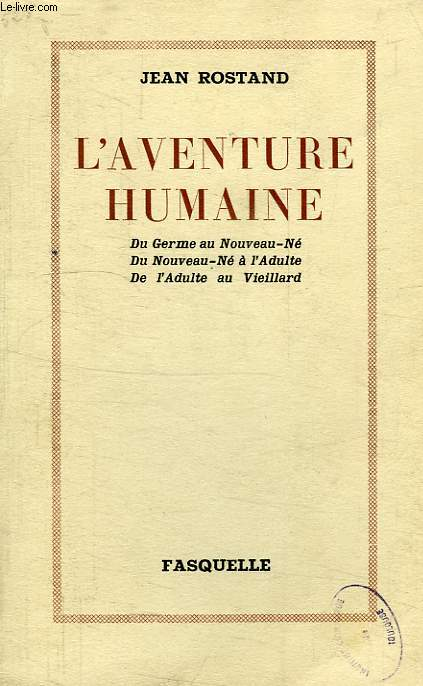 L'AVENTURE HUMAINE