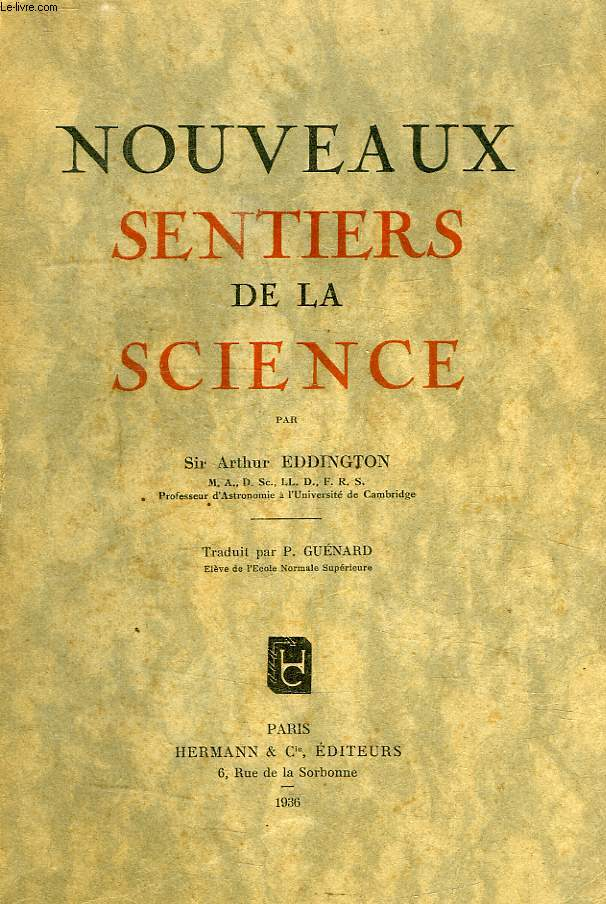 NOUVEAUX SENTIERS DE LA SCIENCE