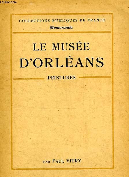 LE MUSEE D'ORLEANS, PEINTURES