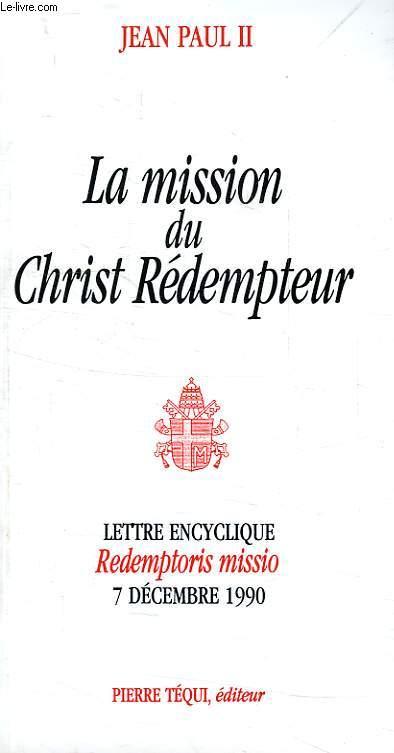 LA MISSION DU CHRIST REDEMPTEUR
