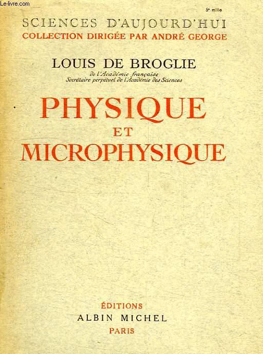 PHYSIQUE ET MICROPHYSIQUE