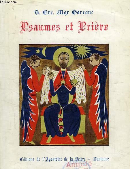 PSAUMES ET PRIERE