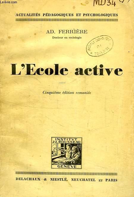 L'ECOLE ACTIVE
