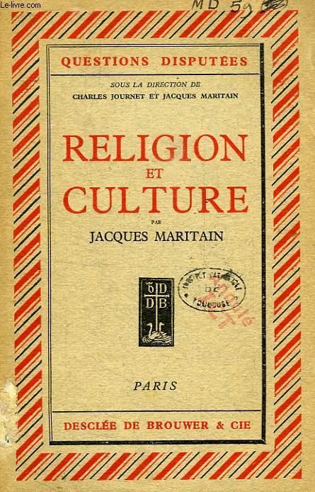 RELIGION ET CULTURE