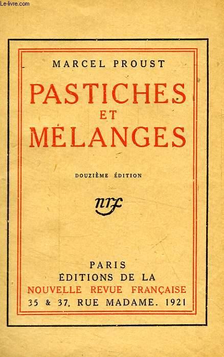 PASTICHES ET MELANGES