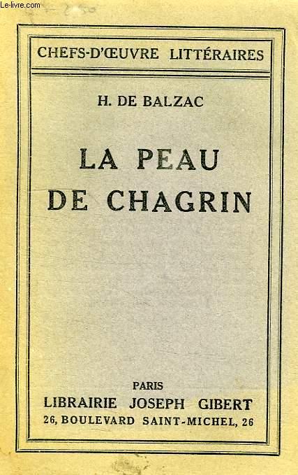 LA PEAU DE CHAGRIN