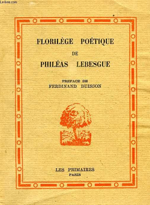 FLORILEGE POETIQUE
