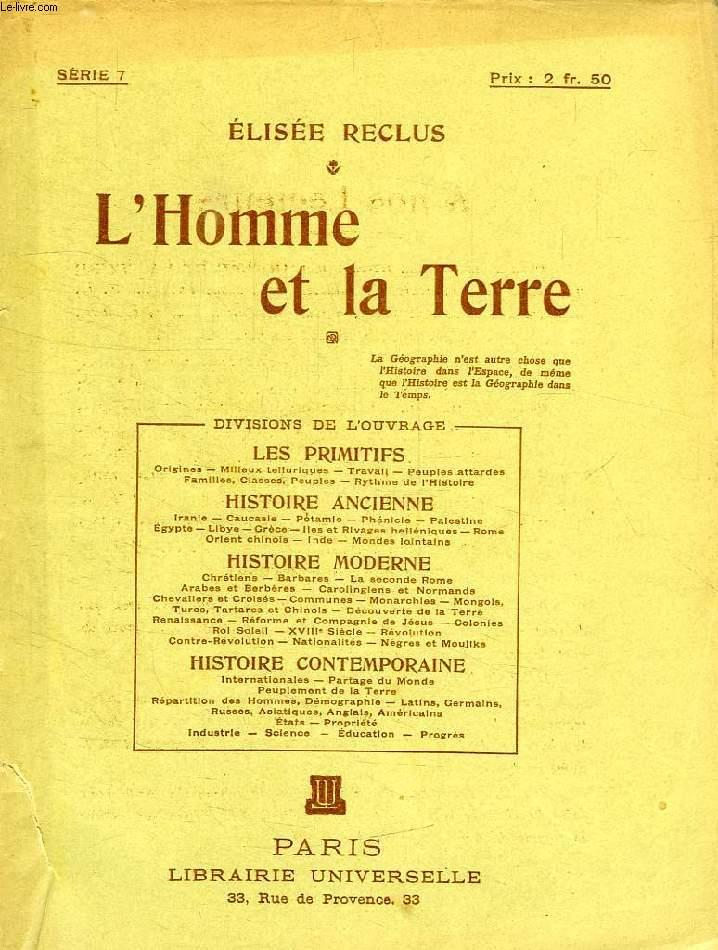 L'HOMME ET LA TERRE, SERIE 7