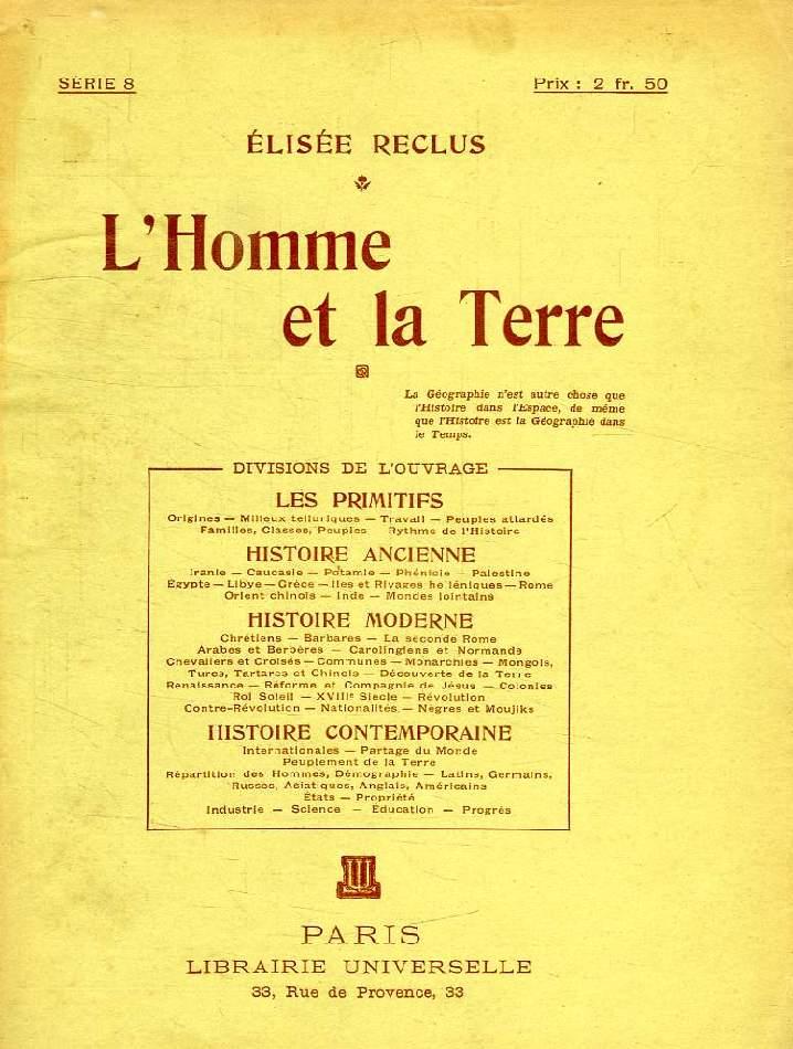 L'HOMME ET LA TERRE, SERIE 8
