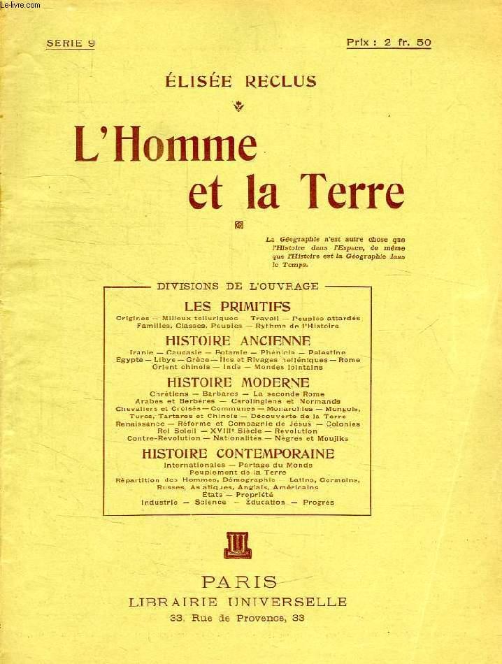 L'HOMME ET LA TERRE, SERIE 9